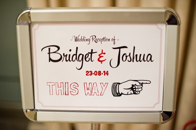 wedding Stationary, table numbers designed by groom